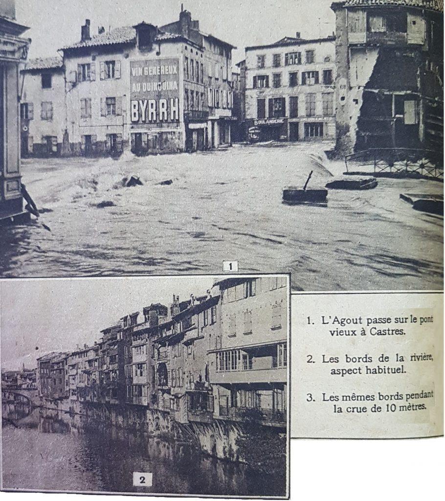 Crue-1930-Agout-Castres