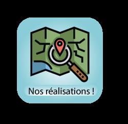 Carte interactive sur nos réalisations